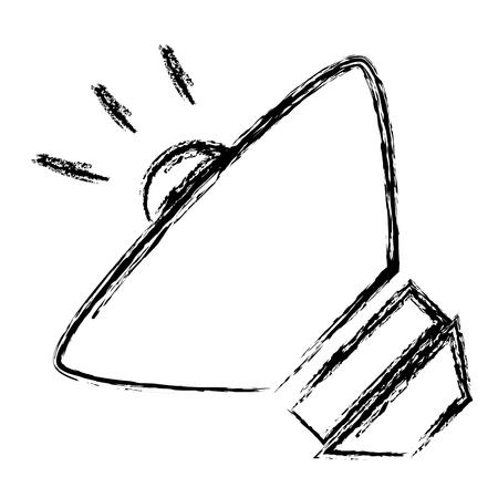 speaker audio isolated icon vector illustration design Иллюстрация