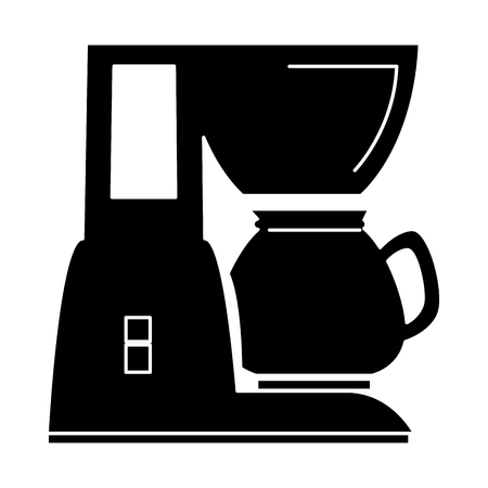 coffee machine isolated icon vector illustration design Illustration