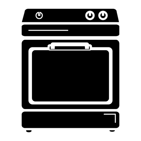 kitchen oven isolated icon vector illustration design Banco de Imagens - 82579649