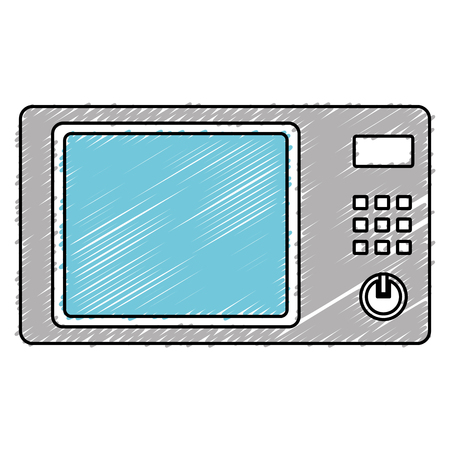 oven microwave isolated icon vector illustration design Imagens - 82589198
