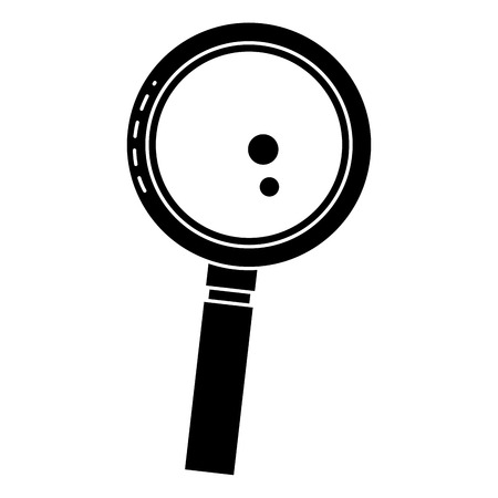 search magnifying glass icon vector illustration design Stok Fotoğraf - 82589329