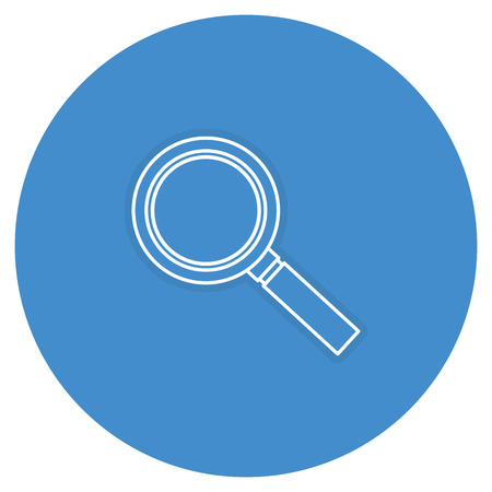 search magnifying glass icon vector illustration design Stok Fotoğraf - 82589337