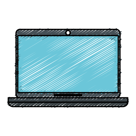 computer laptop isolated icon vector illustration design Stock Vector - 82589351