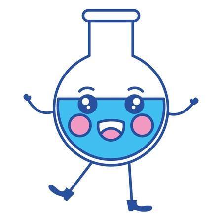 tube test character vector illustration design