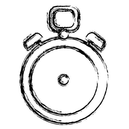 Chronomètre minuterie isolé icône dessin vectoriel Banque d'images - 82589382