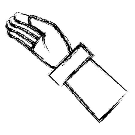 アイコン ベクトル イラスト デザインを分離した手を求めて  イラスト・ベクター素材