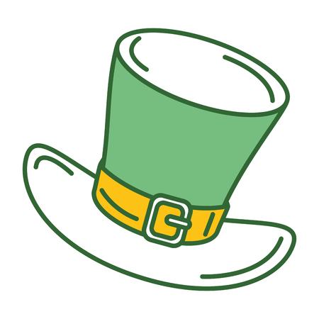 elves: Irish elf hat isolated icon vector illustration design
