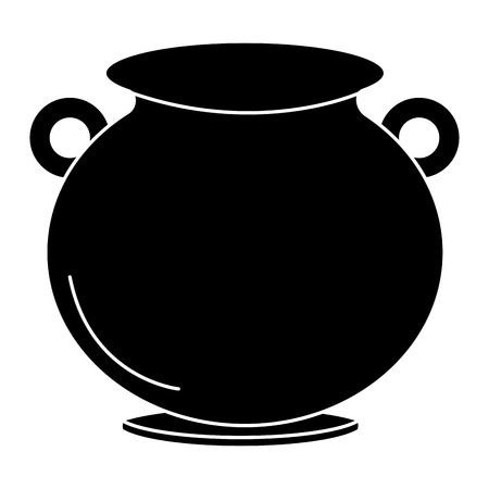 Caldeirão de design de ilustração vetorial de São Patrício Foto de archivo - 82589478