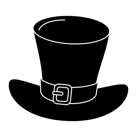 Irish elf hat isolated icon vector illustration design