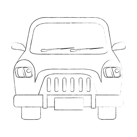 Classic car vehicle icon vector illustration graphic design Zdjęcie Seryjne - 82723605