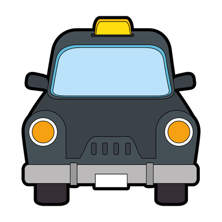 Taxi antique vehicle icon vector illustration graphic design Illustration
