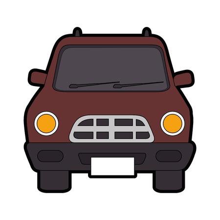 Classic car vehicle icon vector illustration graphic design
