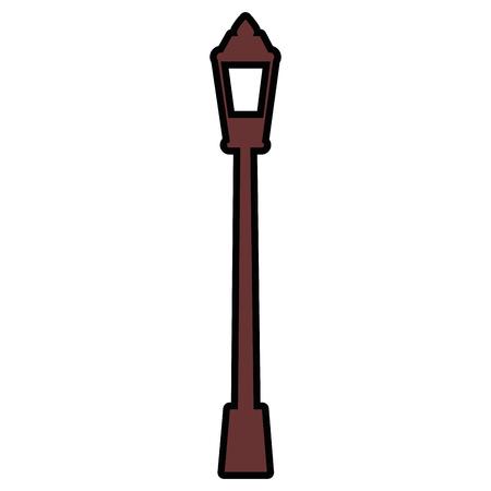 Urban street light icon vector illustration graphic design