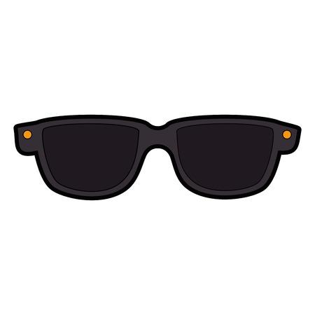 glasses fashion accesory Stock Vector - 82723773