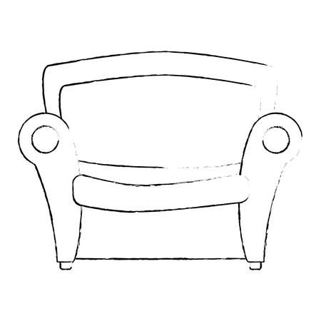 ソファ席の家具