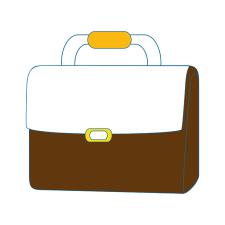 Business briefcase isolated Ilustração