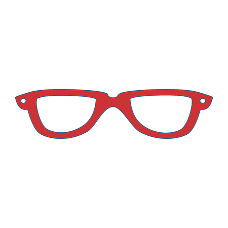 glasses fashion accessory Ilustrace