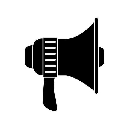 megaphone device isolated Illustration