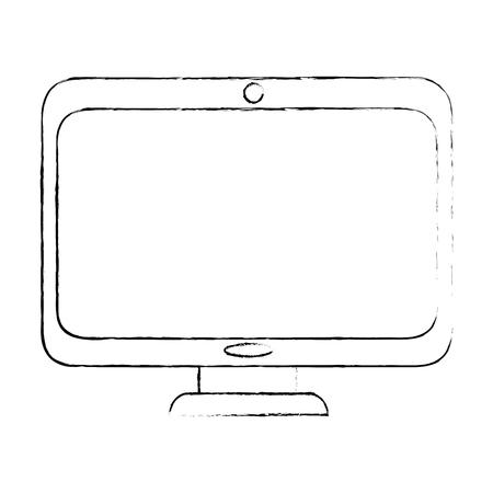 computer icon image Ilustrace