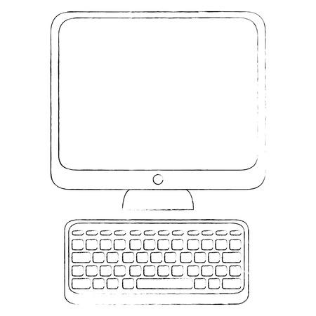 コンピューターのアイコンの画像  イラスト・ベクター素材