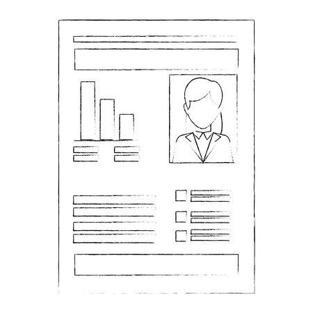 document with Statistical graphs Stock fotó - 82745514