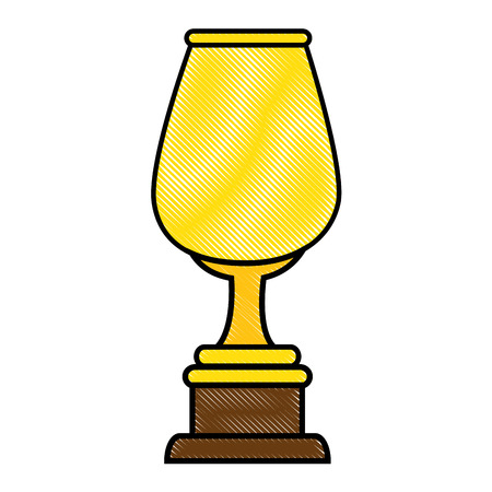 trophy cup icon Ilustração