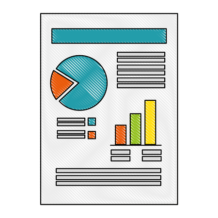 document with Statistical graphs Stock fotó - 82745578