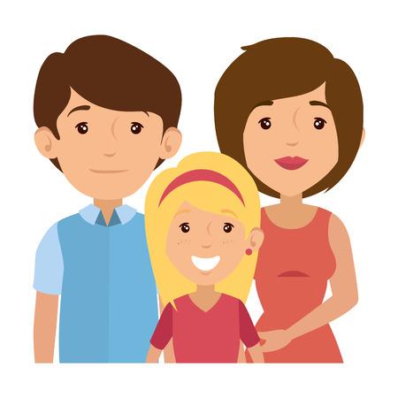 family with kids Banco de Imagens - 82750936