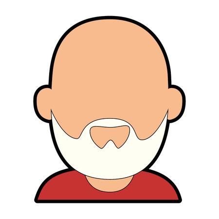 avatar grandfather cartoon