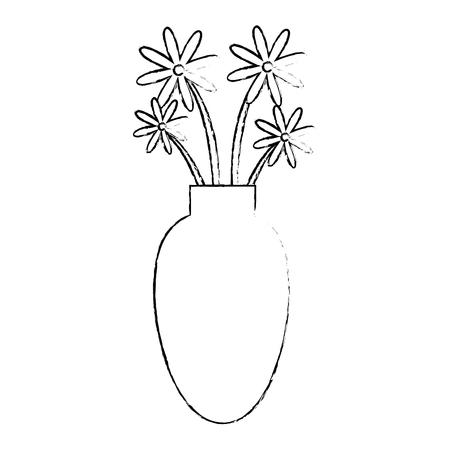 vase with flowers Stock fotó - 82751030