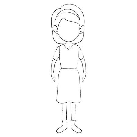 女の子の子供漫画