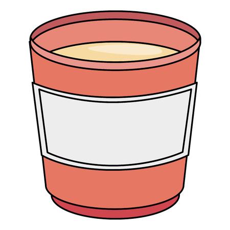 커피 머그잔 아이콘 벡터 일러스트 디자인 격리 스톡 콘텐츠 - 82751107