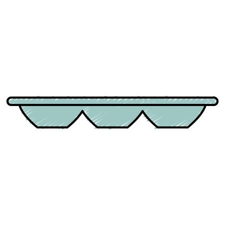 Récipient à l & # 39 ; air vide icône vecteur illustration design Banque d'images - 82751417