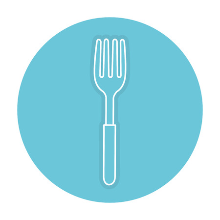 fork cutlery isolated icon vector illustration design Фото со стока - 82751357