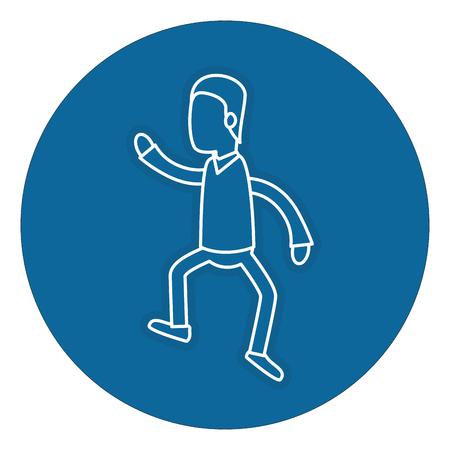 Avatar de un actor actuando pose vector ilustración diseño Foto de archivo - 82742998