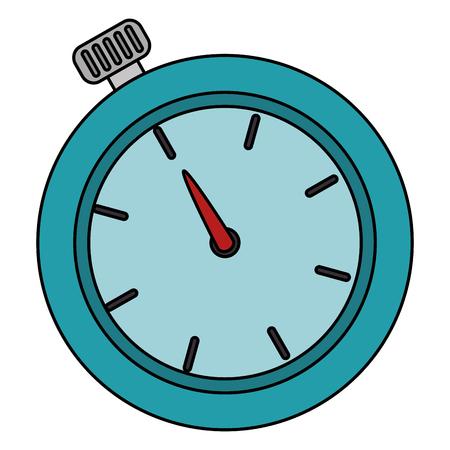 Timer cronometro isolato icona illustrazione vettoriale progettazione Archivio Fotografico - 82743082