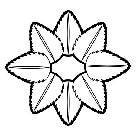 tea leafs product emblem vector illustration design Stock Vector - 82757947