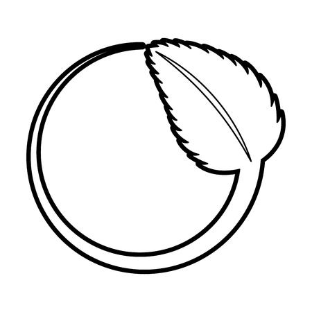 tea leafs product emblem vector illustration design Stock Vector - 82757950