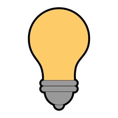 isolated energy bulb icon vector illustration graphic design Ilustração