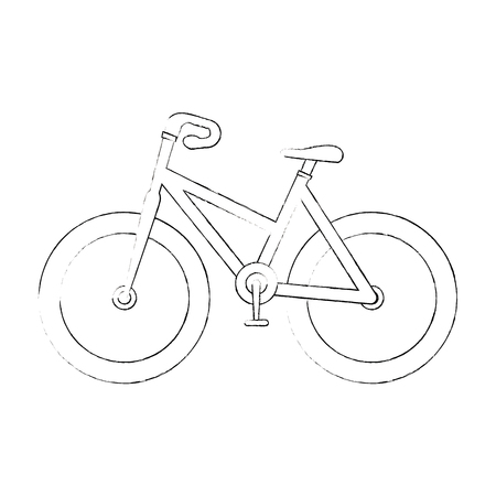 isolated sport bicycle icon vector illustration graphic design