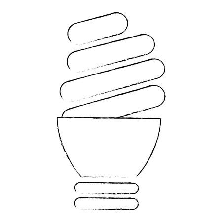 isolated light bulb icon vector illustration graphic design Stock Illustration - 82946961
