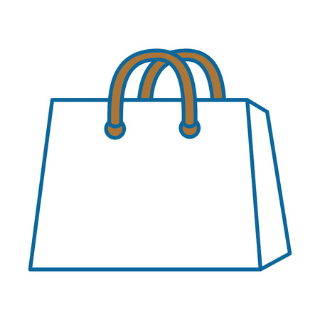 isolated shopping bag icon vector illustration graphic design