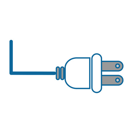 isolated energy plug icon vector illustration graphic design