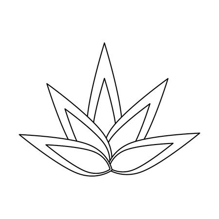 isolé icône big flame vector illustration conception graphique