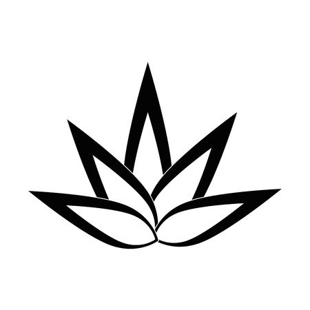 Geïsoleerde grote vlam icoon vector illustratie grafisch ontwerp Stock Illustratie