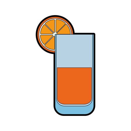 isolated lemonade glass icon vector illustration graphic design Stock Vector - 82952026