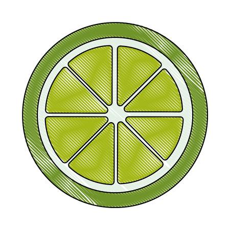 ハーフカット レモン アイコン