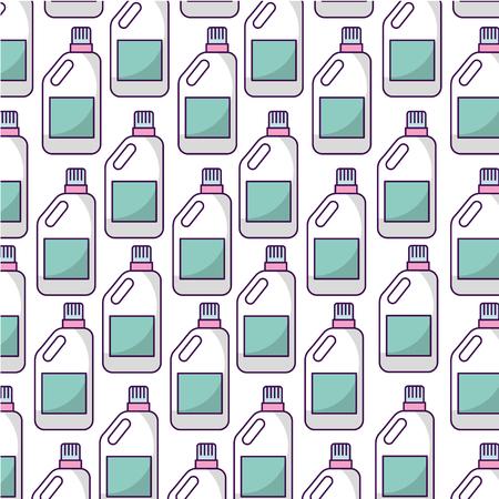detergent bottle pattern background vector illustration design