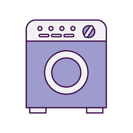 wash machine isolated icon vector illustration design Иллюстрация