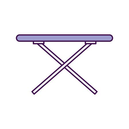 strijkplank geïsoleerd pictogram vector illustratie ontwerp